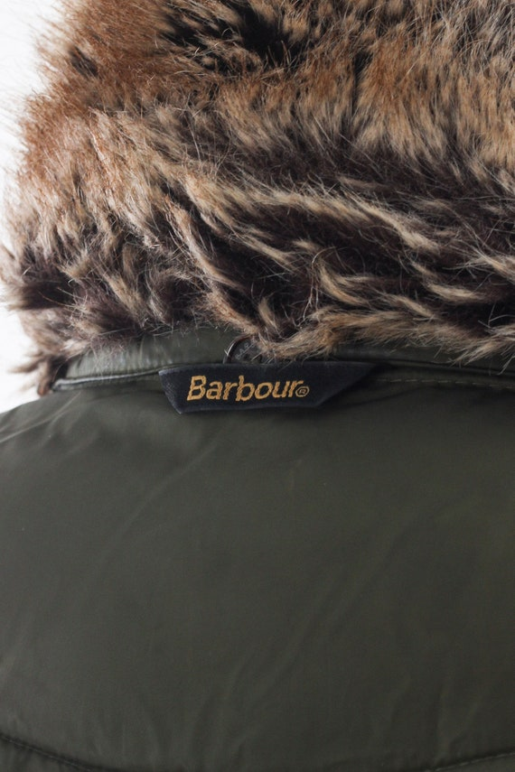 Women's BARBOUR INTERNATIONAL FIBREDOWN Winter Co… - image 9