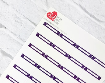 This Week's Focus Cover | Single Color Option | Passion Planner Stickers for the Classic and Compact Pro Size