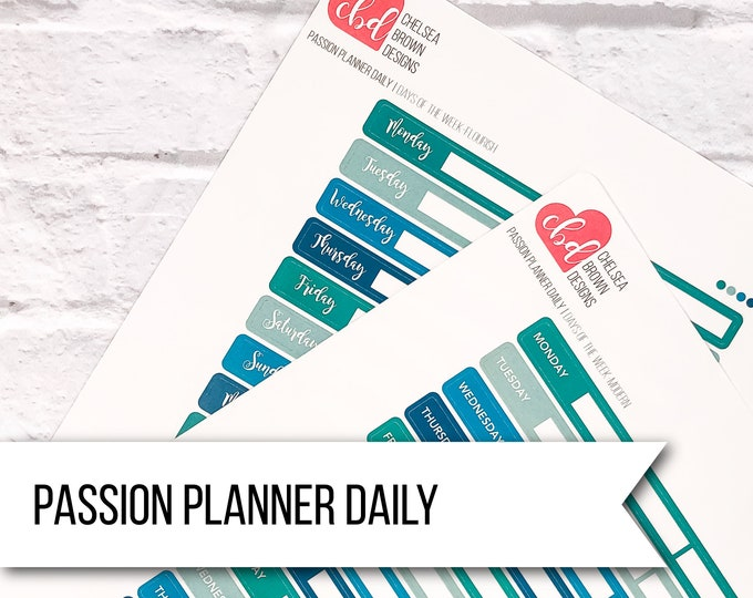 Passion Planner Daily