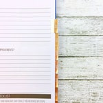 Foiled Monthly Tabs | Passion Planner Stickers for the Classic and Compact Pro Size