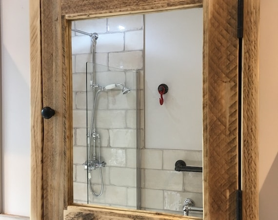 WINDERMERE | Reclaimed  Timber Bathroom Cabinet.