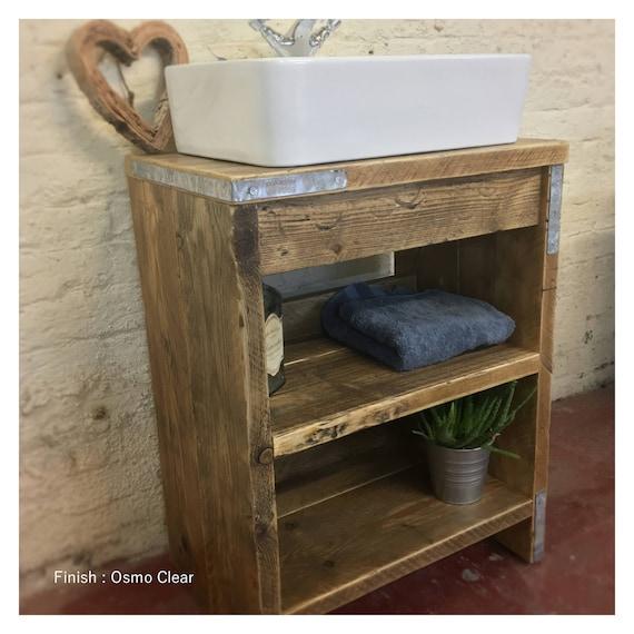 OXFORD-Reclaimed Wood Vanity Bathroom, Wood Bathroom Vanity Cabinet, Bathroom Vanity Rustic, Rustic Bathroom Vanity