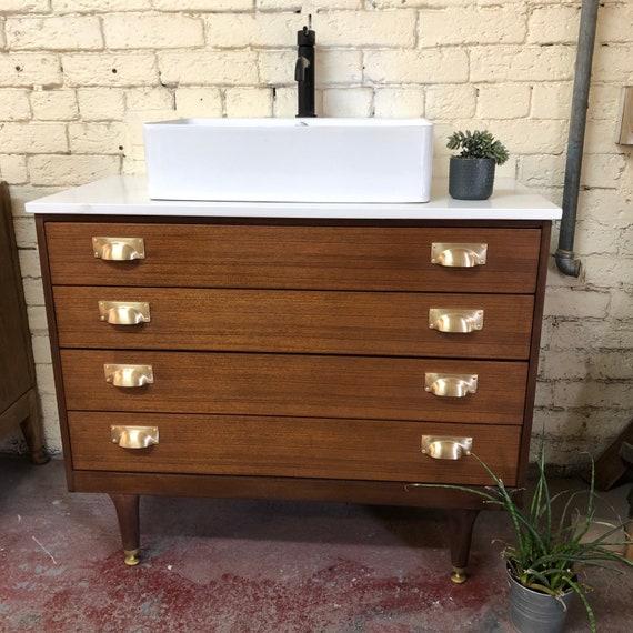 GPLAN | Bathroom Vanity Including Quartz Worktop & Exeter Basin