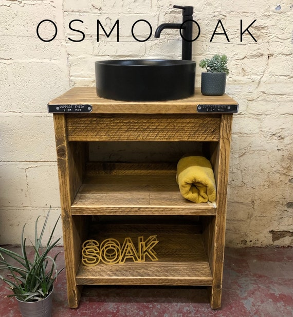 OXFORD | Reclaimed Timber  Vanity Unit