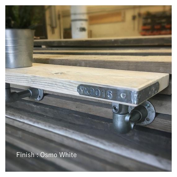 Tilbury-Reclaimed Timber Shelf & industrial Brackets