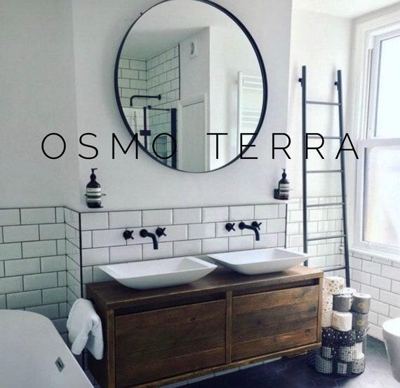 WIMBLEDON- Reclaimed Bathroom Vanity Cabinet.        Wooden Vanity Bathroom, Bathroom Vanity Reclaimed Wood,
