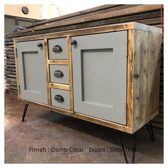 TETBURY | Reclaimed Timber Bathroom Vanity Unit