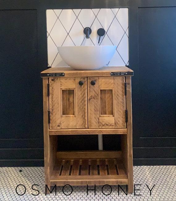 BRIGHTON | Reclaimed Timber  Bathroom Vanity Unit