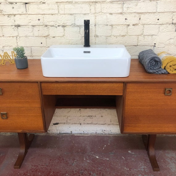 G Plan Form Five Bathroom Vanity Incl. Quartz Worktop