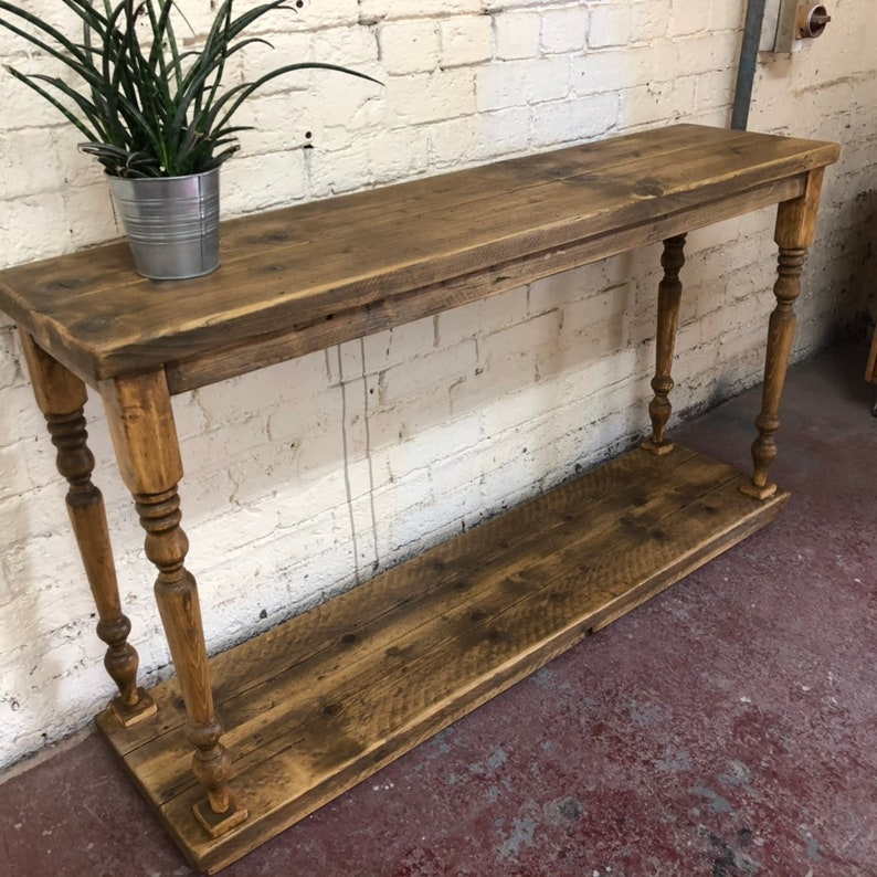 Sensational Duxbury Console Table Table Reclaimed Wood Sofa Table Hall Table Handmade Rustic Ibusinesslaw Wood Chair Design Ideas Ibusinesslaworg