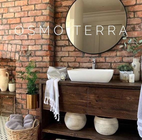 GLASGOW |  Reclaimed Timber Bathroom Vanity Unit.