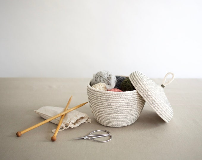 Sage Rope Basket