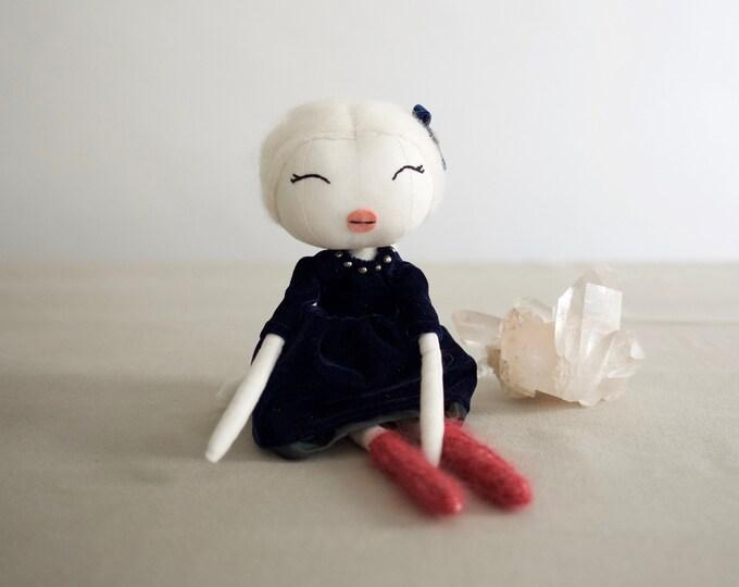 Heirloom Holiday Rag Doll
