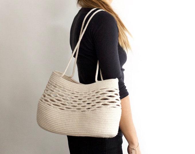 Summer Net Rope Beach Bag
