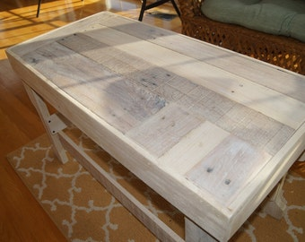 Upcycled Pallet Beach Coffee Table Pallet Wood Table