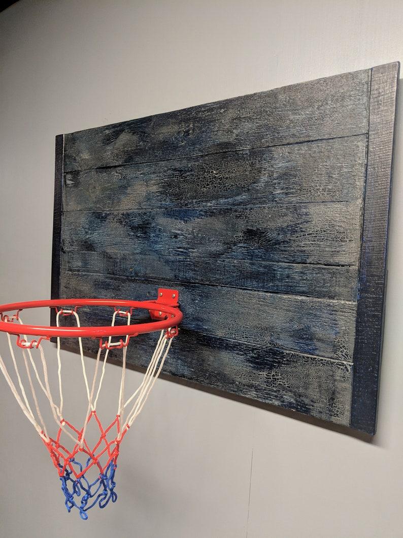 Panier de basket à la main rustique basket but classique | Etsy