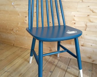 Upcycled Vintage Stickback Chair