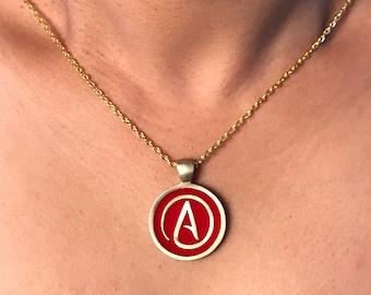 Atheist Pendant Necklace