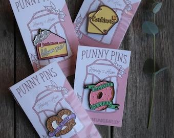 Enamel Pin/ Pun Pin/ Raunchy Pin/ Pin Collection/ Honey and the Hive Pin