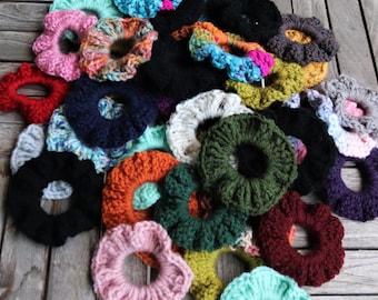 Scrunchie/ Crochet Scrunchie/ Handmade Scrunchie