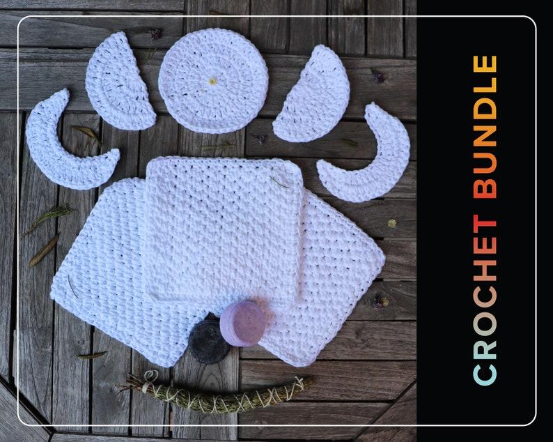 Crochet Scrubbie Pattern Crochet Washcloth pattern Crochet image 1