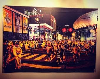 Stanley Cup 2017 | Nashville Predators | Bridgestone Arena | Photography | Canvas Print | Wall Art | Ready to Hang | Free Shipping