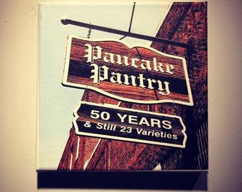 Pancake Pantry | Historic Nashville | Hillsboro Village | Metal | Canvas Print | Ready to Hang | Free Shipping