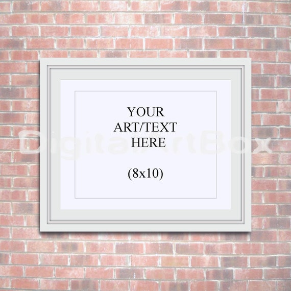Marco para cartel 8 x 10 16 x 20 Horizontal blanco marco 24 x   Etsy