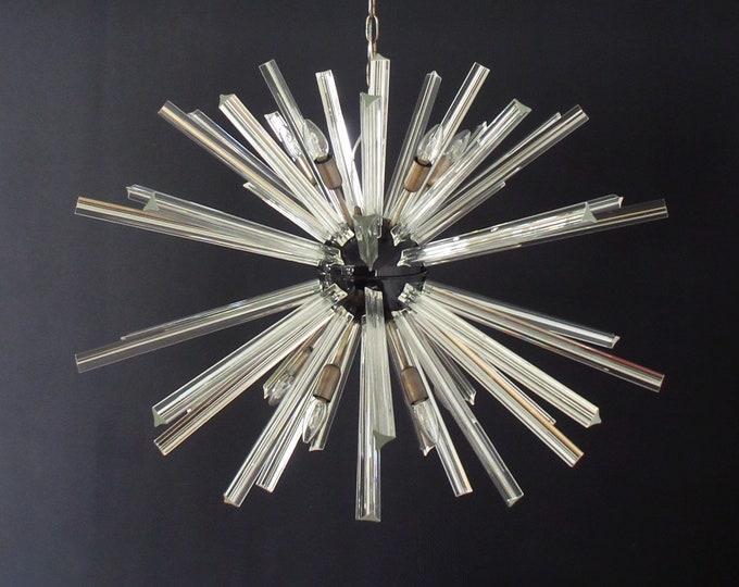 Crystal Prism Sputnik Chandeliers - 50 prisms