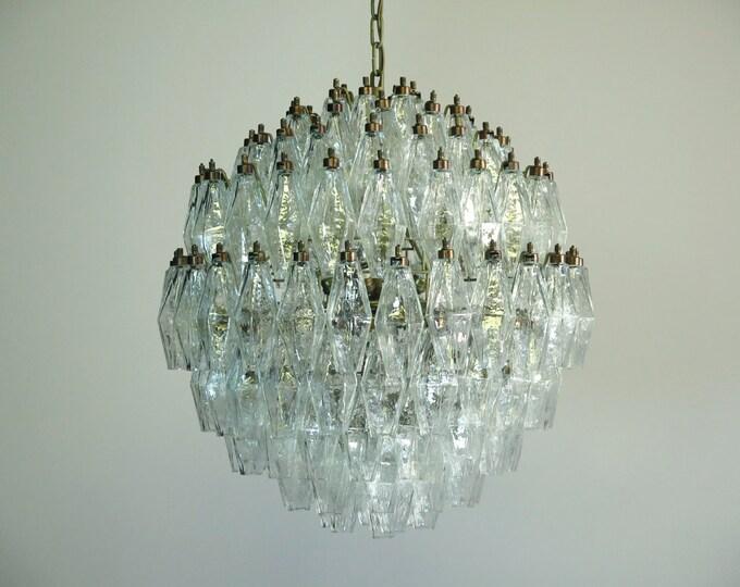 Amazing spherical Murano poliedri candelieri - 140 poliedri