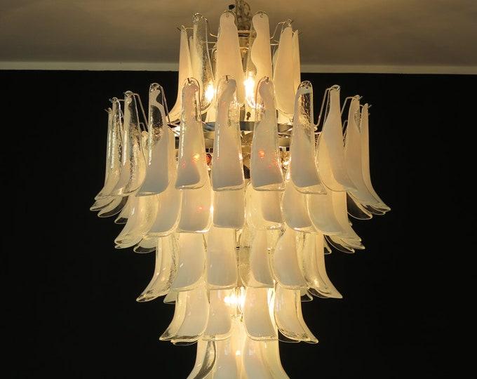 Chandelier Mazzega Murano, Italy - 85 glass petals