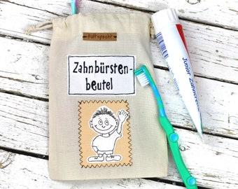 Washable toilet bag for children