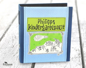Folder Kita, Kita-folders, folders, nursery school, children-folders, Kita-portfolio, Photo gallery, child drawing, enrollment gift,