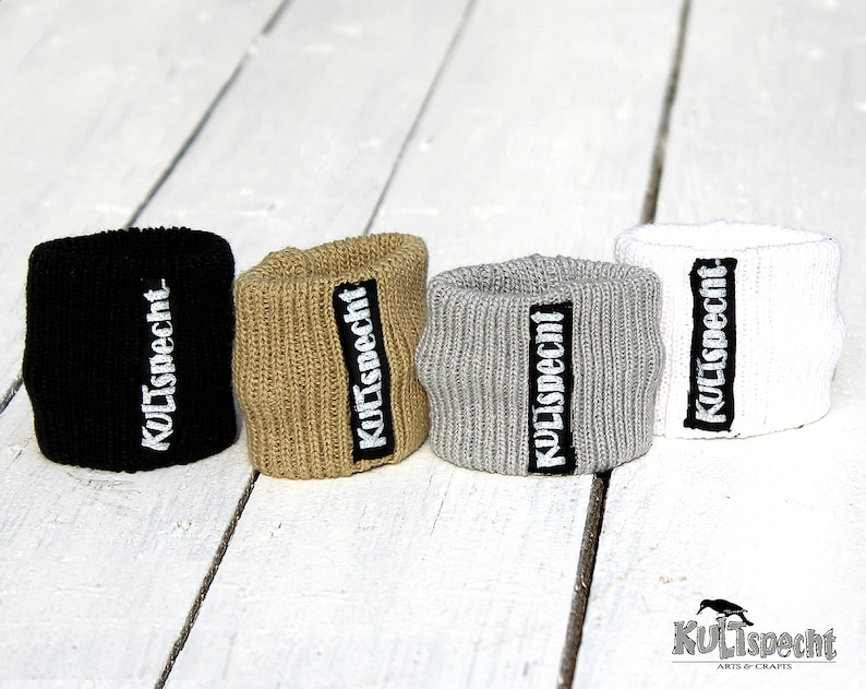 Cuffs for wrist warmers wide range of colors  image 0