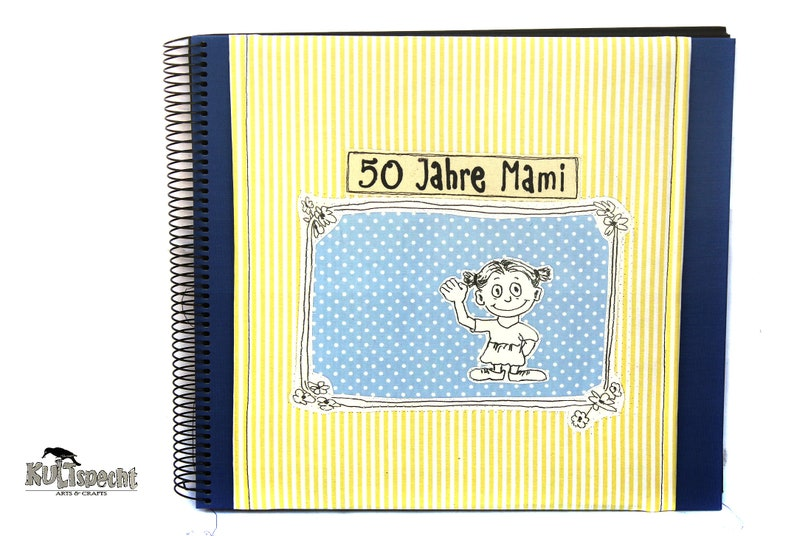 DIY Photo Album Unique Souvenir Album Mum Gift image 0