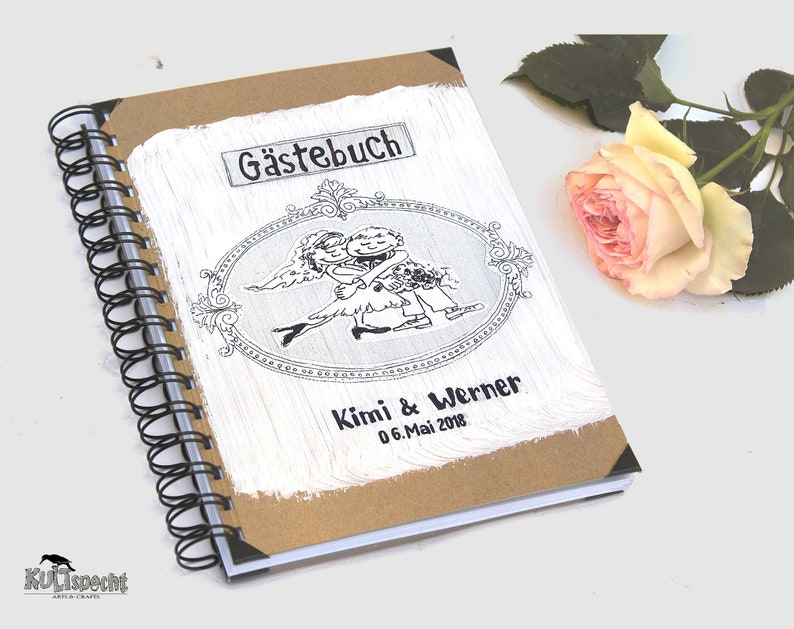 Alternative guest book wedding-guest-book memorial book image 0