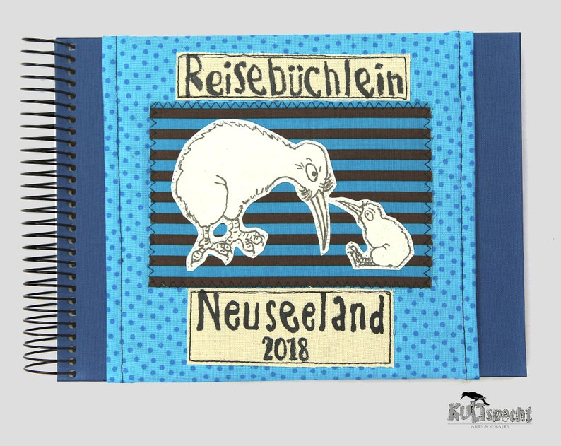 Handmade album retro style Germany handmade travel image 0