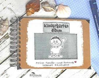 Photo album kindergarten, A5 landscape format