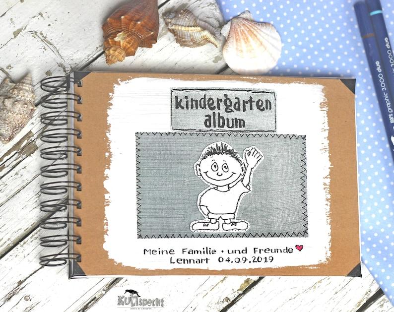 Photo album kindergarten A5 landscape format  image 1