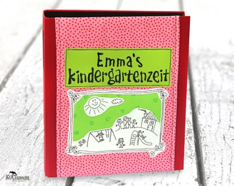 Children's collection folder, personalized