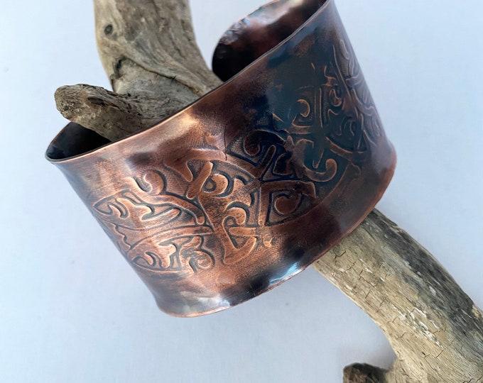 Celtic Copper Cuff