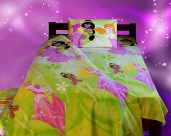 BIG Sale! Aurora Disney bedding set. Baby bedding set. Aurora duvet cover. Children linen bed. Junior single duvet cover. Cartoon duvet