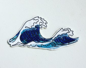 DOLPHIN BLUE SHADES//Iron On Embroidered Applique//Sea Creatures Cute Critters