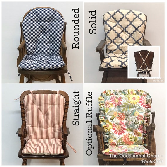 High Chair Cushion For Vintage Wooden, Seat Cushions For Wooden High Chairs