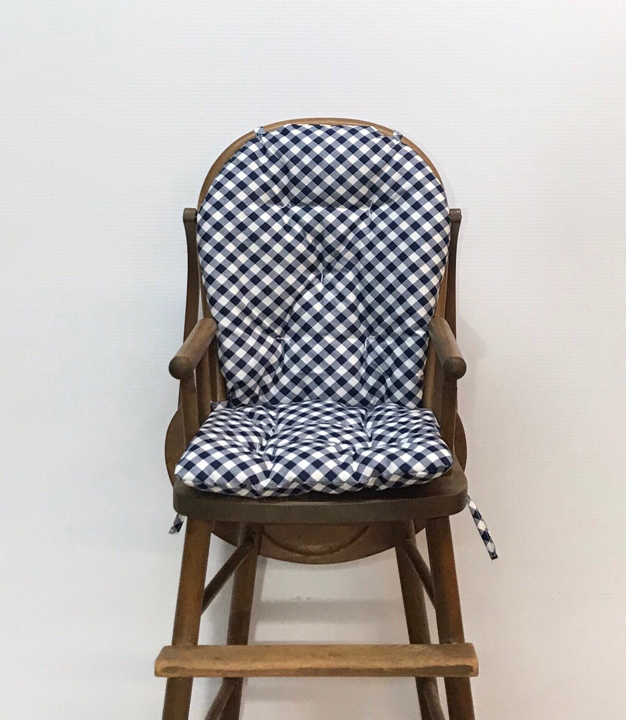 High Chair Cushion For Vintage Wooden High Chairs Farmhouse
