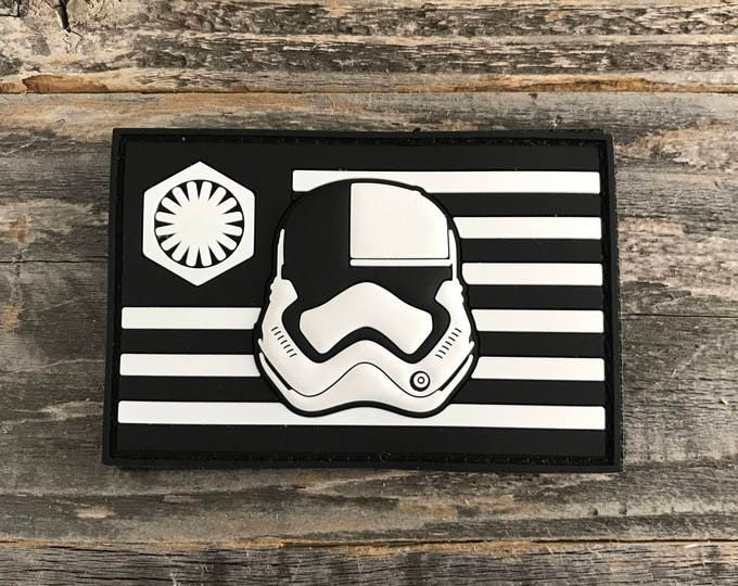 First Order Stormtrooper Executioner Flag Series 3D PVC Morale Patch