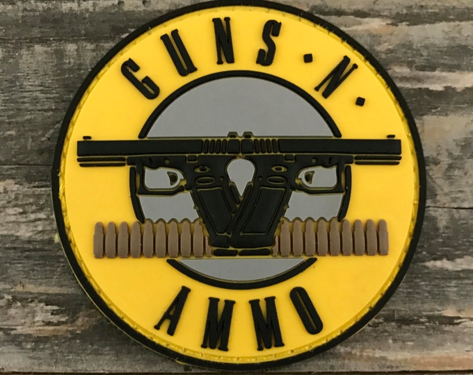 Guns N Ammo 3D PVC Morale Patch
