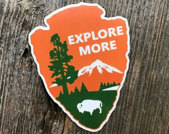 Explore More Arrowhead Sticker