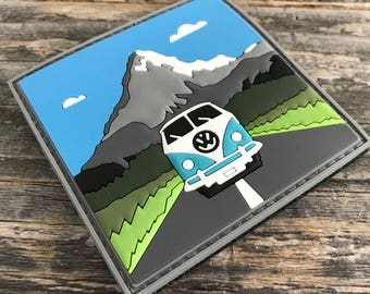 Road Trip 3D PVC Morale Patch