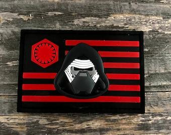 Kylo Ren Flag Series 3D PVC Morale Patch